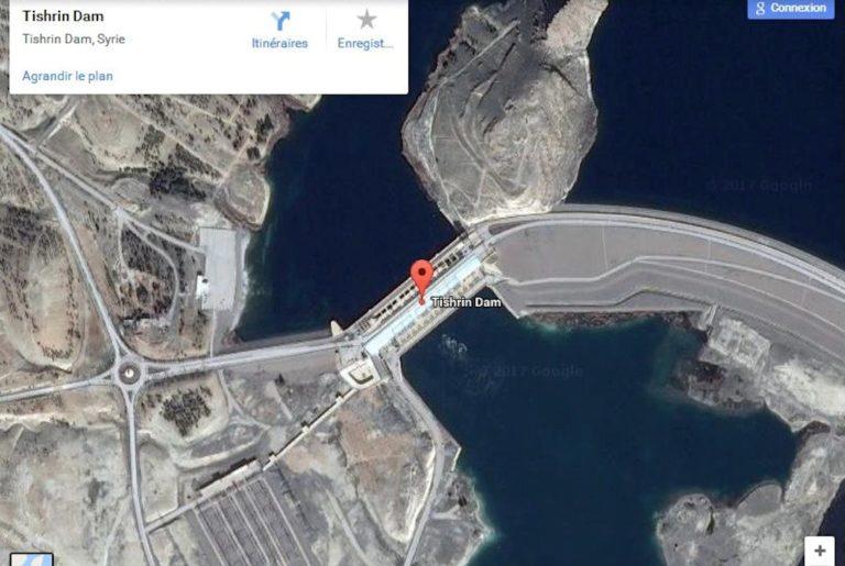 2017.03.09 Le barrage de Tichrin, est un des grands ouvrages qui longent l_Euphrate.syrie-barrage-768x515