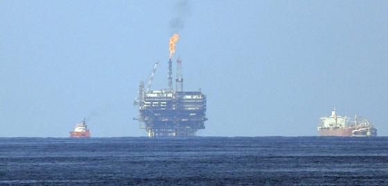 Italy Eni Gas Field