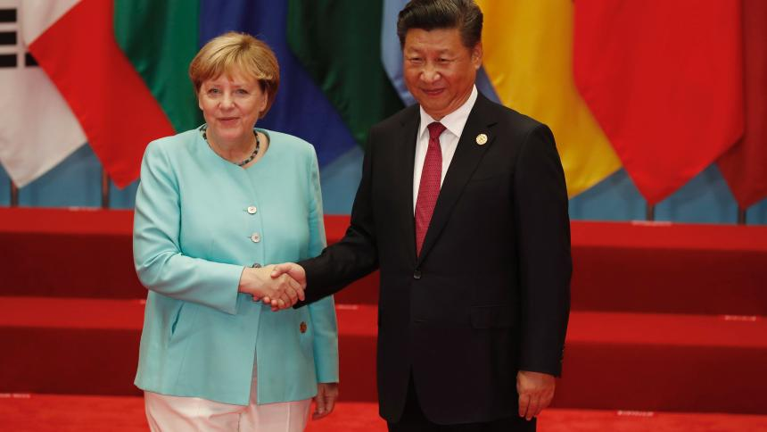 2017.03.21 German Chancellor Angela Merkel with Chinese President Xi Jinping the ...image-1044656-860_poster_16x9-dkpv-1044656