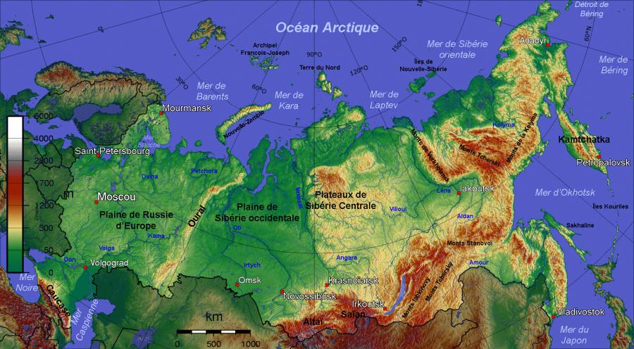 2017.03.24 Carte-physique-de-la-Russie