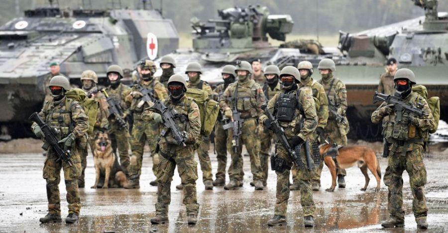 2017.04.13 armée-allemangeMilitaires allemands