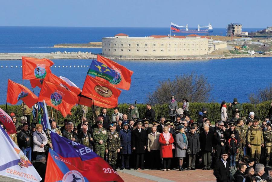 2017.04.15 Célébrations à Sébastopol, en Crimée, du rattachement de la ville à la Russie, le 18 mars 201710-TASS_20502766_opt-1024x684
