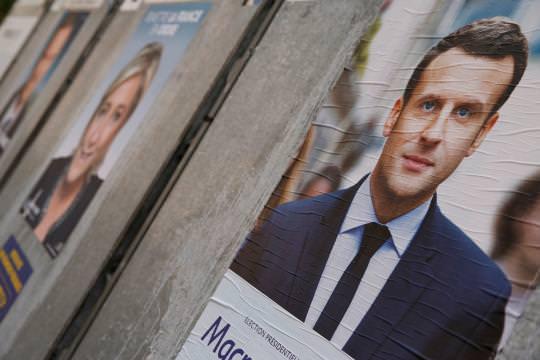 2017.04.24 Emmanuel Macron und Marine Le Pen ziehen in die Stichwahl am 7. Mai ein.-Bild Gonzalo Fuentes - Reuters-3cb9b3e3-e7e1-48a6-9d7e-3657fdbed129