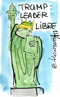 2017.07.03 Trump leader du monde libre dessin-contrepoints161-197x320