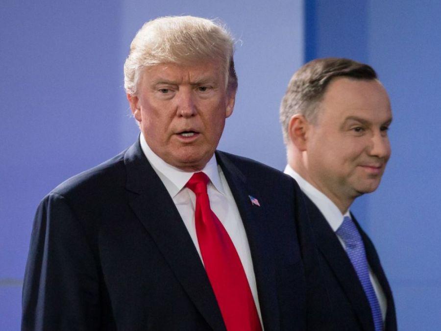 2017.07.16 Le président polonais Andrzej Duda accueille le président Donald Trump Varsovie cover-r4x3w1000-595e10b69dbbf-polish
