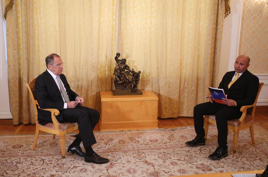 2017.07.26 Interview de Sergueï Lavrov accordée à la chaîne kurde Rudav 123