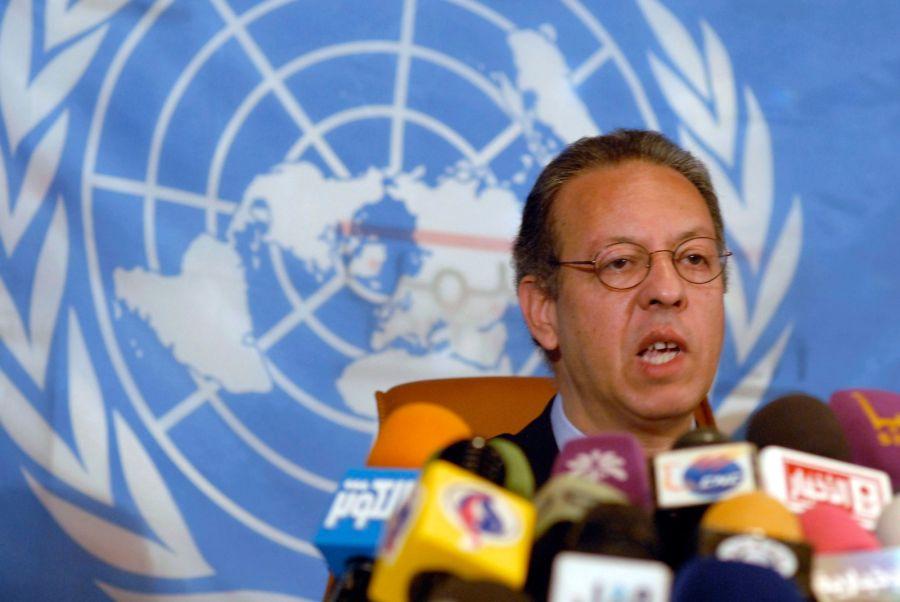 2017.08.04 Le diplomate marocain Jamal Benomar, qui était le médiateur de l'ONU au Yémen 6706398.image