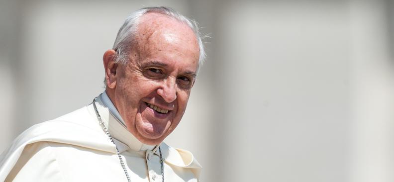 Audience pontificale au Vatican