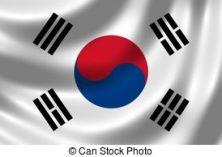 drapeau sud coréen canstock3754645