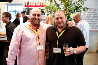 2017.09.07 The founders of NSO Group, Omri Lavie, left, and Shalev Hulio. Credit NSO Group 03HACK-2-master315