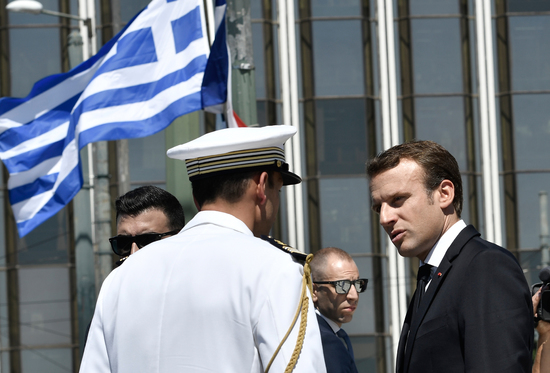 GREECE-FRANCE-DIPLOMACY