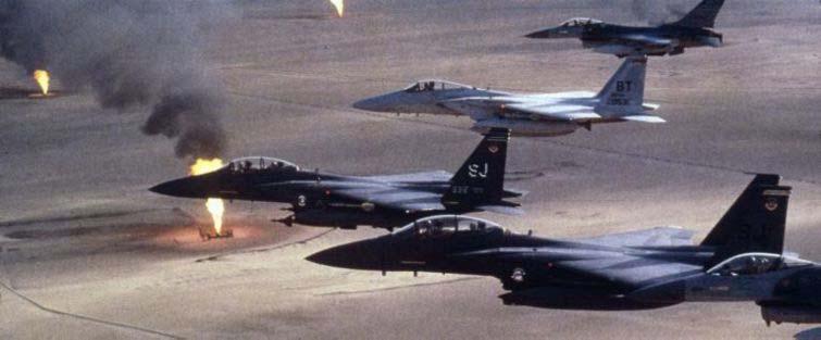 2017.09.10 Lors de la guerre du Golfe, en 1991, des avions F-15 de l_U.Sf15