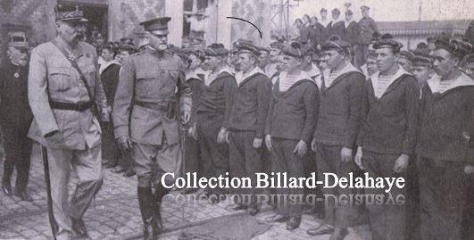 2017.09.14 L'ARRIVEE du Général PERSHING.13 juin 1917 - phot. J. Clair-Guyot.sur-le-quai-de-boulogne