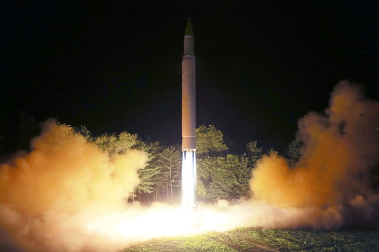 2017.09.17 A photo from North Korea_s official Korean Central News Agency shows the intercontinental ballistic missile launched from an undisclosed site in the North merlin-to-scoop-1