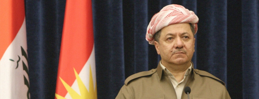barzani Massoud Barzani, le président du Gouvernement régional du Kurdistan (GRK) irakien