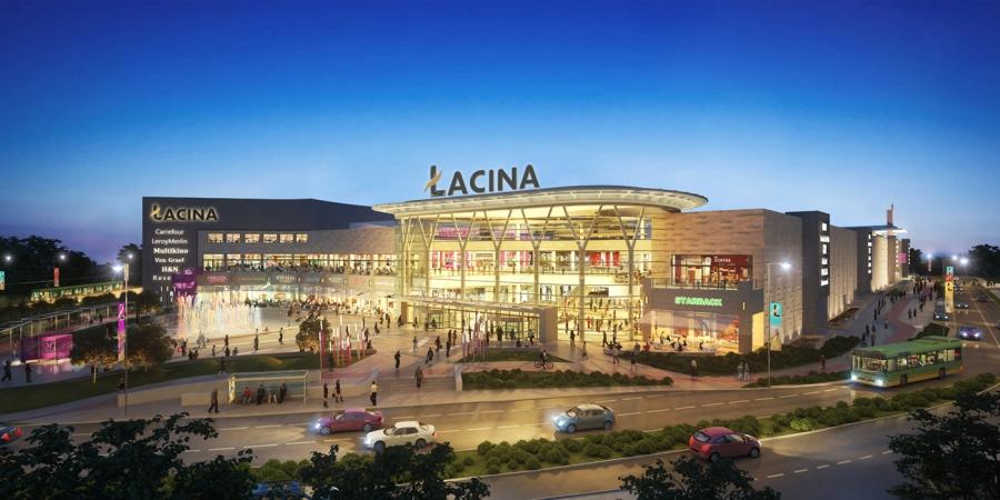 centre-commercial-pologne-Lacina