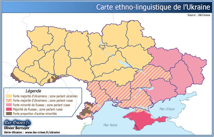 UKRAINE 27-carte-ethno-linguistique-ukraine