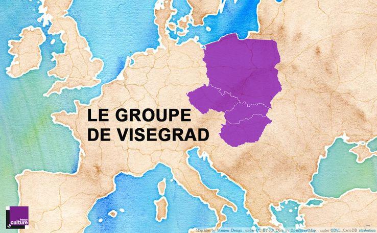 738_groupe-visegrad-visuel le groupe de Visegrad - Pologne, Slovaquie, République tchèque et Hongrie,