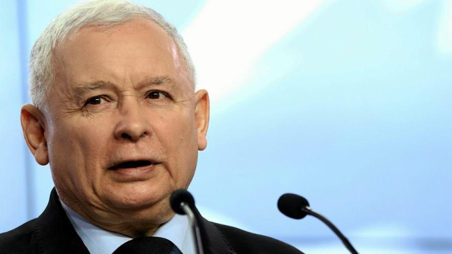 Kaczyński z21512571IER,Jaroslaw-Kaczynski POLOGNE