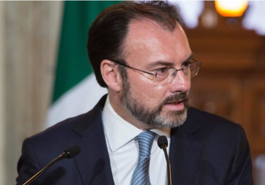 Luis Videgaray Caso Mexique videgaray 2017