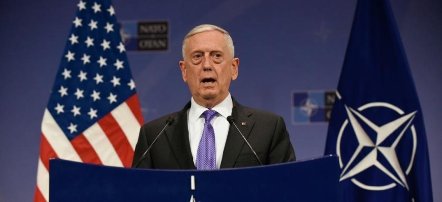 Ministre américain de la Défense James Mattis 000_q2924_1