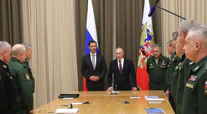 poutin al assad President-al-Assad-summit-meeting-President-Putin-Sochi-9