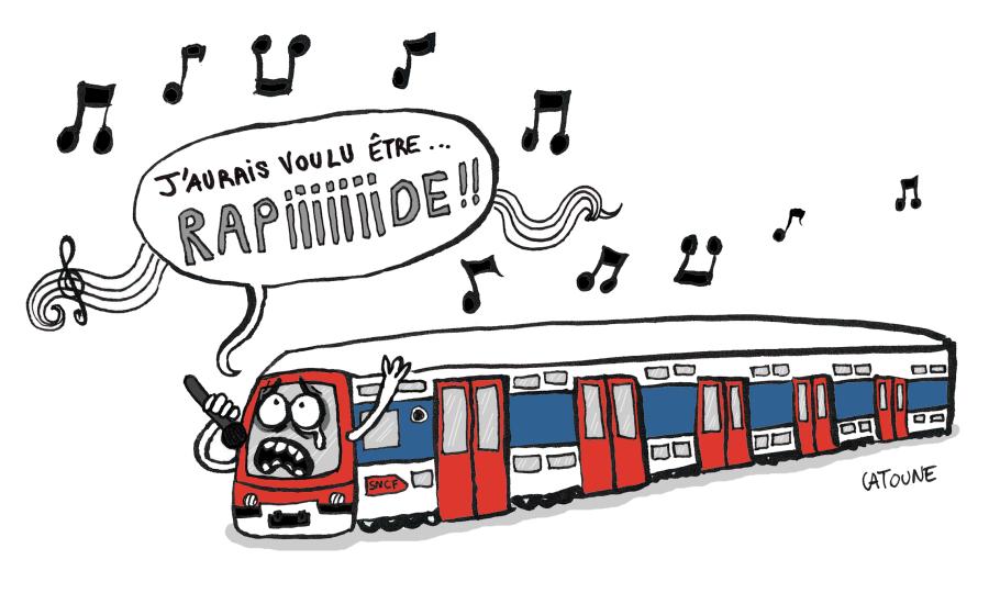 SNCF HUMOUR grc3a8ve-train-sncf-rer-couleurs