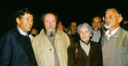 Soljenitsyne Alexandre SOLJENITSYNE reçu en Vendée