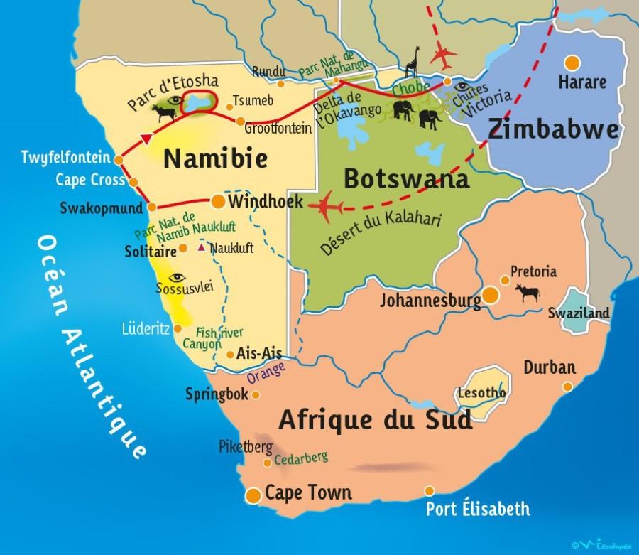 ZIMBABWE AFRIQUE SUD w-afs-namibie-pano-afrique-australe-carte-16-jpg_000000886872z7g7h44d_l