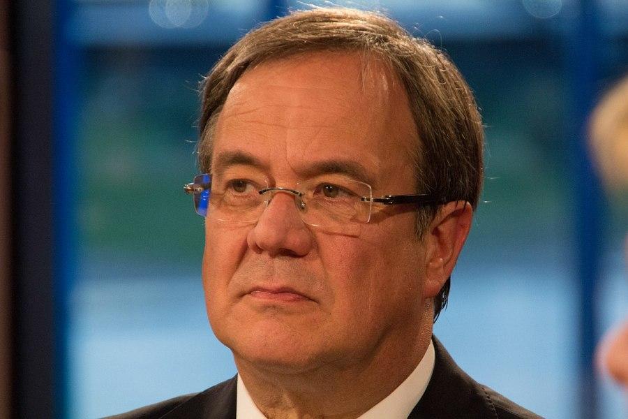 ALLEMAGNE le Ministre-président de la Rhénanie du Nord-Westphalie Armin Laschet