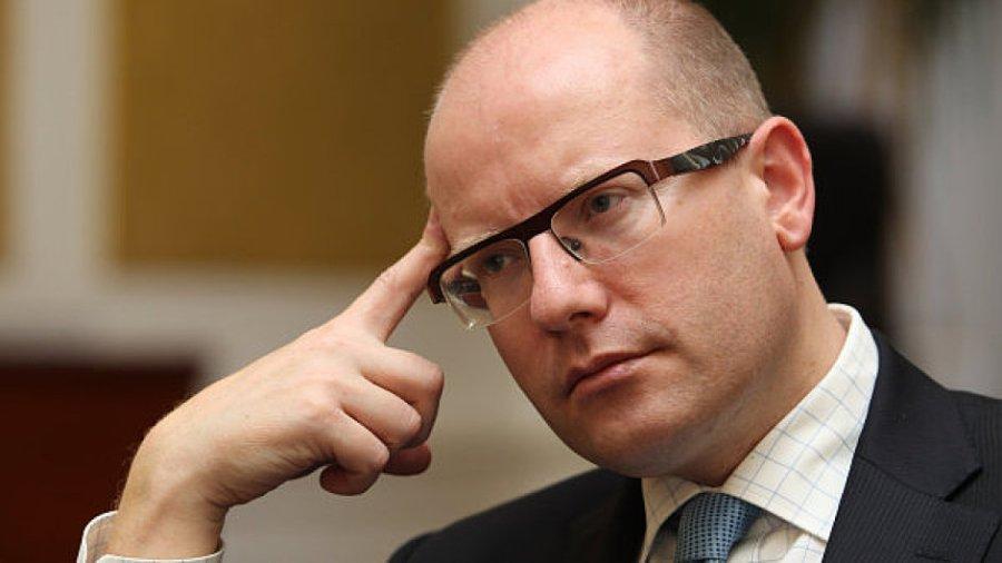 Bohuslav Sobotka TCHEQUE sobotka
