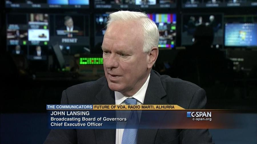 John Lansing, chef du Bureau US des gouverneurs de la radiodiffusion20160109183732001_hd