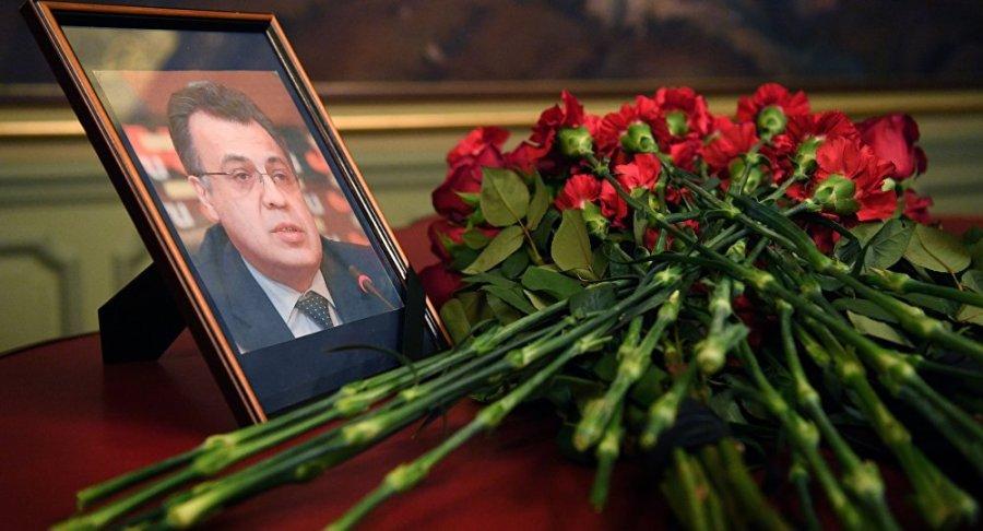 Karlov Andrei L'Ambassadeur de Russie en Turquie Andreï Karlov hommage 1048865245