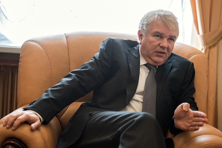 Интервью с замглавы МИД РФ Алексеем Мешковым в Москве
