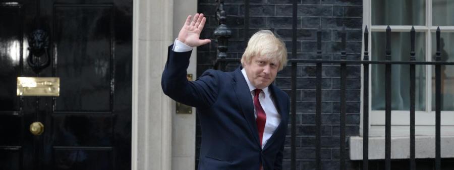 Ministre britannique des Affaires étrangères Boris Johnson en Russie 8982631