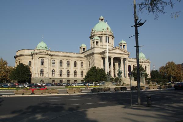 Parlement à Belgrade parlement SERBIE