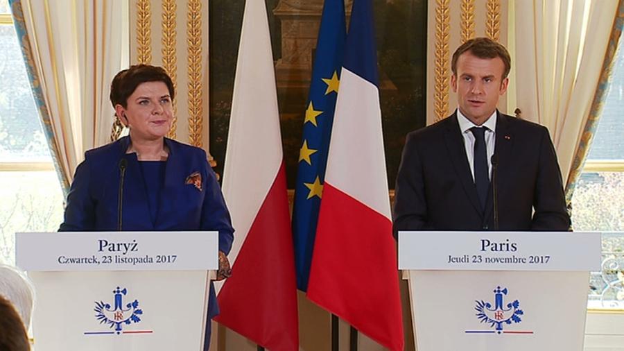 POLOGNE La Première Ministre de Pologne Beata SzydłooWFrL