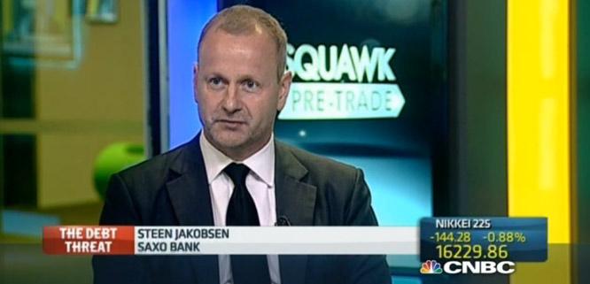 Steen Jakobsen - Économiste en chsteen-jakobsen-cbnc