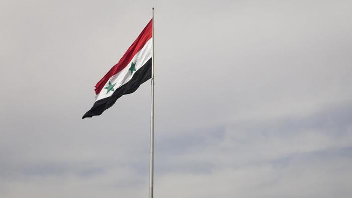 SYRIE 2017.01.18 drapeau syrie