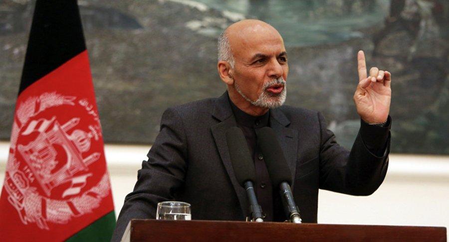 AFGHANISTAN Le président afghan Ashraf Ghani 1019100978