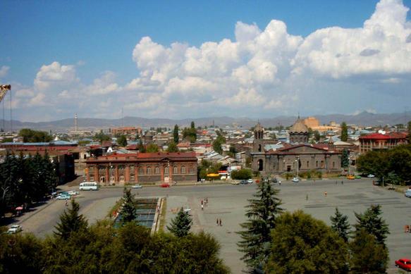 ARMENIE Gyumrigeneralview