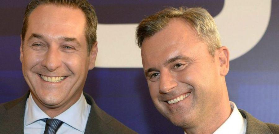AUTRICHE Norbert Hofer, candidat du FPÖ à l'élection présidentielle et Heinz Christian Strache ,cover-r4x3w1000-578df5241b305-norbert-hofer-candidat-du-fpo-a-l-election