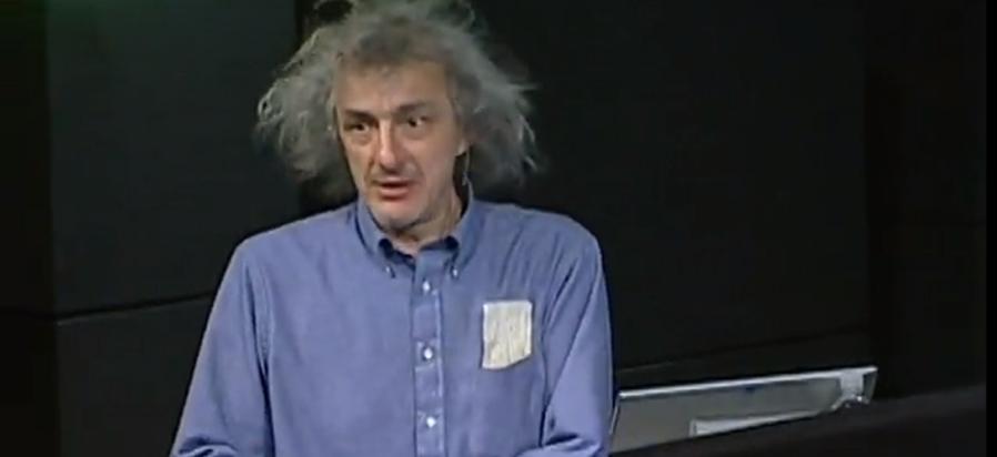 Clifford Stoll lors d'un Ted Talk en 2006 cliffok