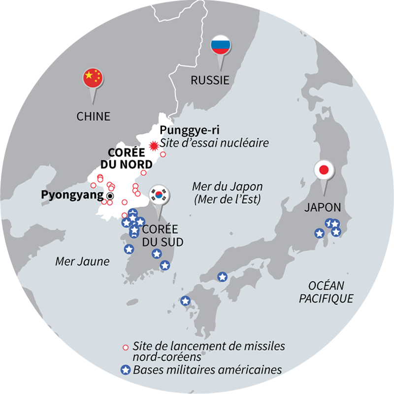 COREE NORD NUCLEAIRE & US POSITIONS ARMEE