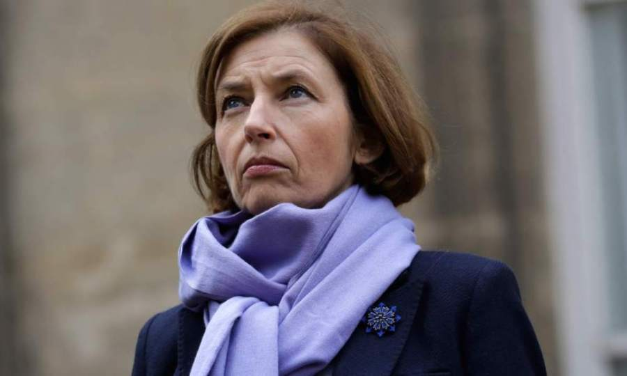 FRANCE DEFENSE La ministre Florence Parly 6a61643856147edcab5a7e0