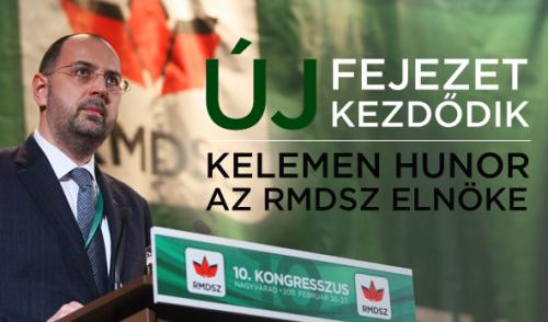 Hunor Kelemen ([ˈhunoɾ], [ˈkɛlɛmɛn]), né le 18 octobre 1967 à Cârța, est un écrivain, poète, journaliste, homme politique roumainPicture1