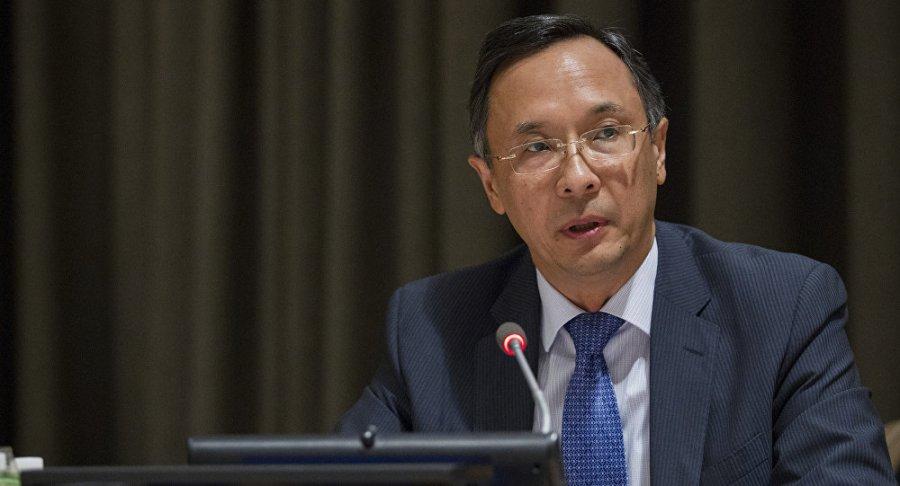 Kazakhstan le Ministre des Affaires étrangères du Kazakhstan Kaïrat Abdrakhmanov 1049880499
