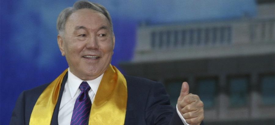 Kazakhstan - le Président du Kazakhstan Noursoultan Nazarbaev,nazarbayev