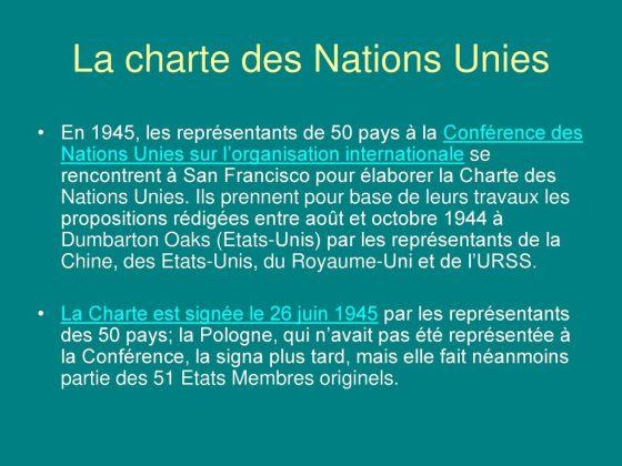 La+charte+des+Nations+Unies