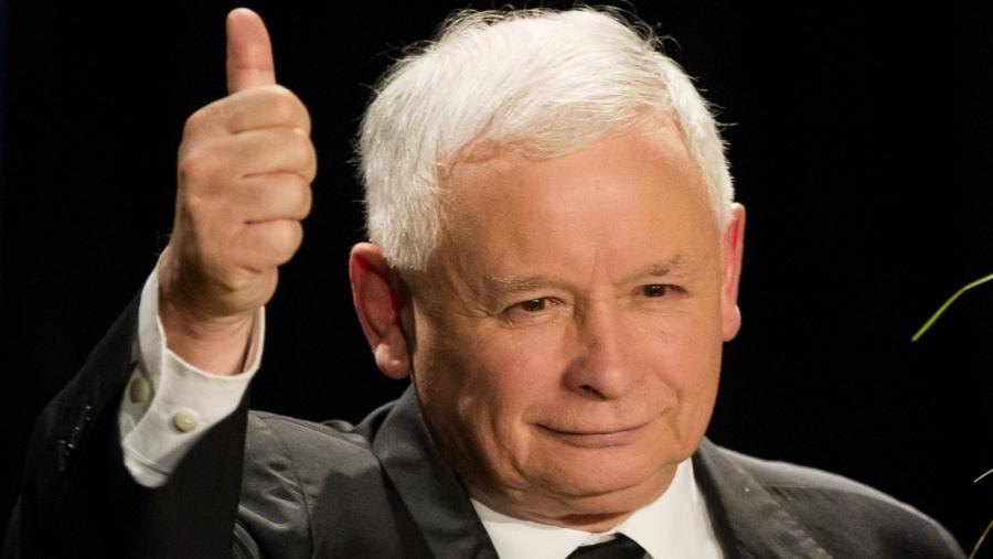 POLOGNE Jarosław Kaczyński. b1e6839feca314d39d6040afd19c97f4